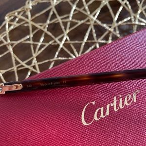Cartier Accessories - Cartier Authentic Glasses Wood Frame! 👓